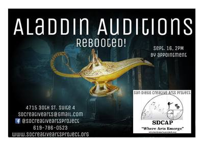 Aladdin Rebooted Auditions